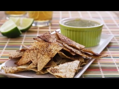 Healthy Snack Recipes - How to Make Baked Tortilla Chips