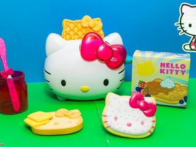 HELLO KITTY TOASTER Hello Kitty Toast with Masha Bear Play Set