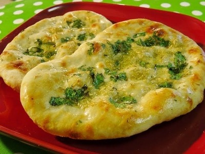 Home made Naan
