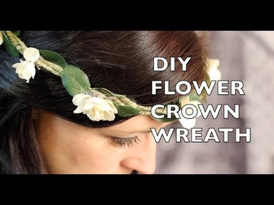 How To Make A Flower Crown Headband