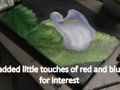 How to Paint a Calla Lily Flower