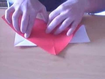 Origami Basics: Octagon from a Square