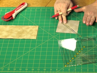 Sew Easy: How to Use the Triangle-Square and Hourglass Unit Template Set