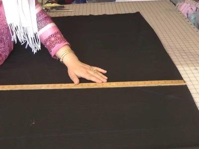 Sewing A Pattiala Salwar, Easy: Part 1