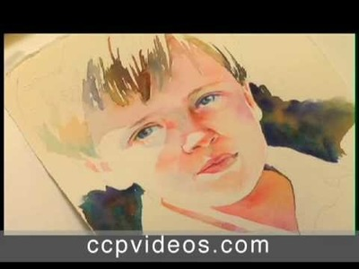 The Watercolor Portrait with Jane Paul Angelhart