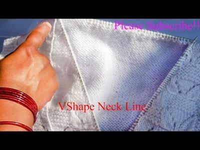 V Shape Neck Design Part- 2