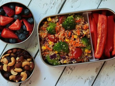 3 Healthy Quinoa Recipes | Back to School Lunch Ideas