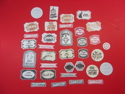 An Idea for Using Scrap Paper & Misti Technique for Stamp Alignment