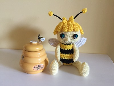 Ape Amigurumi (tutorial).how to make a bee amigurumi