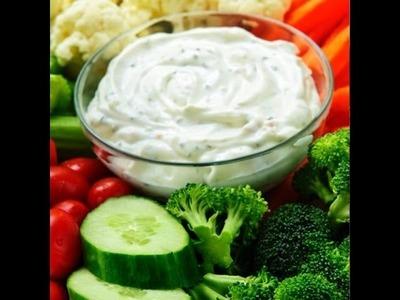 Best Vegetable Dip Recipe