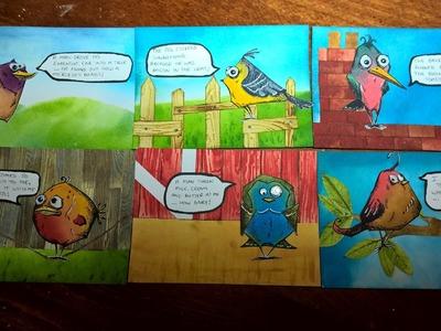 Bird Crazy Picture Book 1: Part 2–Creating the Birds (Tim Holtz)