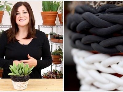 Braided Clay Planter (Full Version)
