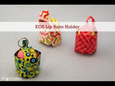 Duct Tape EOS Lip Balm Holder|Sophie's World