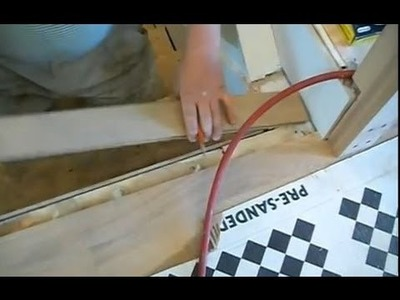 Installing Hardwood on Stairs: How to Install the First Stair Nosing