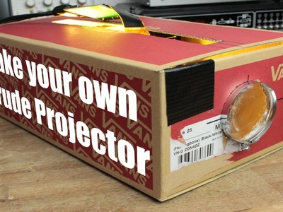 Make your own Crude Projector