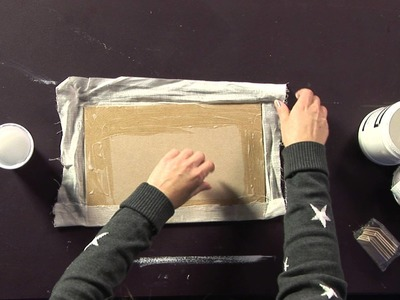 Making your own Canvas Board with Haidee Jo Summers
