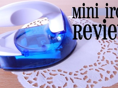 Mini Crafting Iron Review for Perler Beads: Unboxing & Honest Opinions