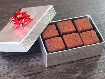 Miracle Fudge - Vegan Chocolate Fudge with Walnuts - Edible Holiday Gift
