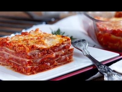 My Vegan Lasagne Recipe by the Vegan Corner