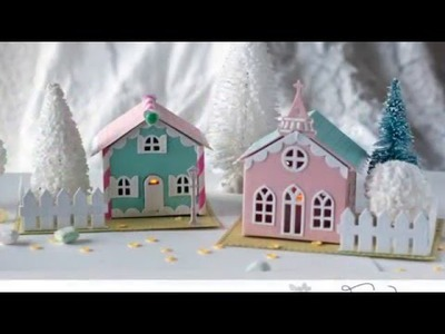 Papertrey Ink New Product Intro: Tiny Town Basics & Tiny Town Church