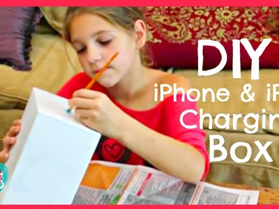 Room Make Over DIY | iPhone iPod Charging Box | JazzyGirlStuff