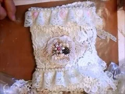 Shabby Chic Elegant Stickpin Lace book - jenningds644