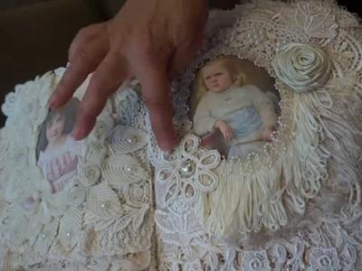 """""""Thank Heaven For Little Girls"""" Fabric Journal"""