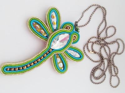TUTORIAL SOUTACHE LIBELLULA - tutorial soutache dragonfly