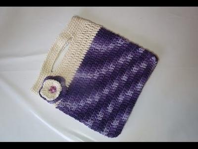 Uncinetto  Borsa  Fiore  Tutorial Crochet