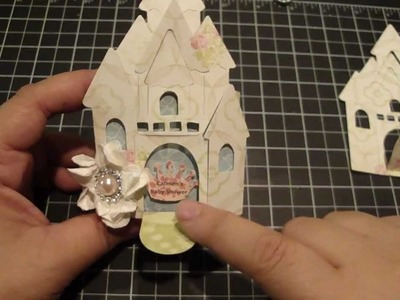 Castle Favor Box for Baby Shower