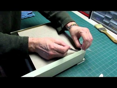 Clamshell Box - Part 2 - Attaching Fabric