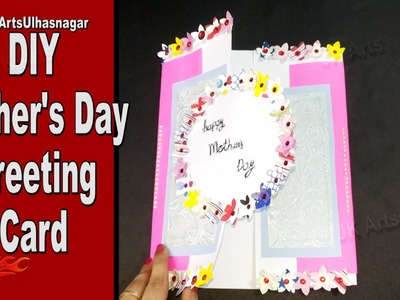 DIY  Easy Mother's Day Greeting Card | How to make | Mother's Day Gift Idea | JK Arts 940