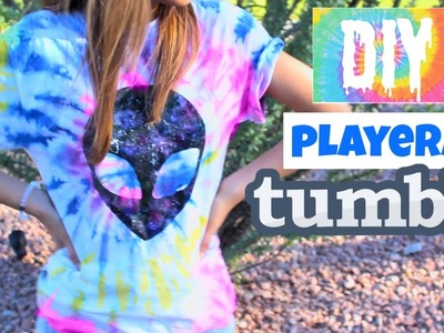 DIY Playera inspirada por Tumblr. Ilse Time