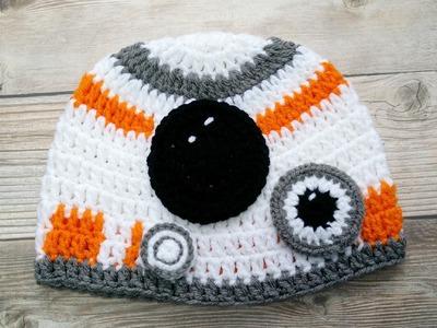 Gorro Inspirado por Star Wars  en crochet  ( Video 1)