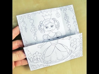 Hattifants Neverending Princess Card - THE TUTORIAL - HD