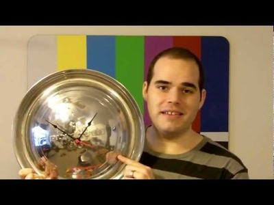 HOW TO MAKE A VINTAGE HUBCAP CLOCK!
