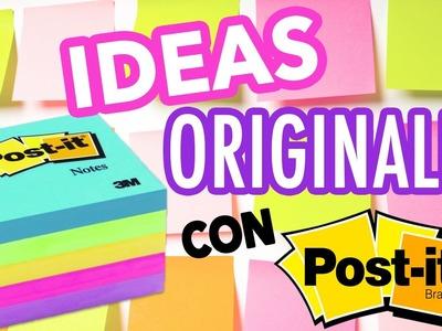 IDEAS ORIGINALES CON POST-ITS | Mrs Ladybug