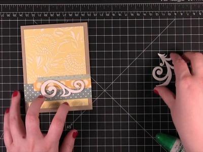 Maya Road Chipboard & Sizzix Embossing Folders