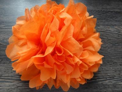 Napkin Flower - Servietten Blumen - Roža iz serviete