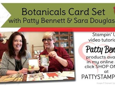 Note Cards in a Box - Botanical Garden - Patty Bennett & Sara Douglass