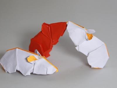 Origami Hamster tutorial (Henry Phạm)