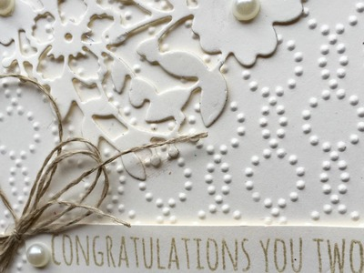 Stampin' Up! Wedding Card Idea and Video Tutorial