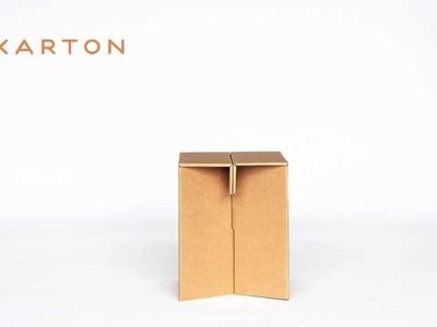 THE BOX STOOL - KARTON