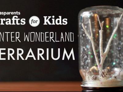 Winter Wonderland Terrarium   PBS Parents   Crafts for Kids