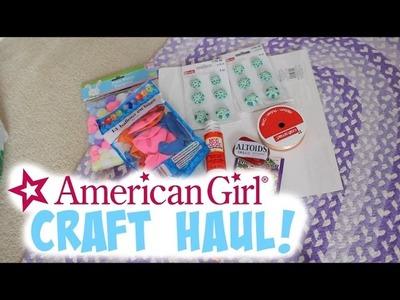 American Girl Craft Haul!