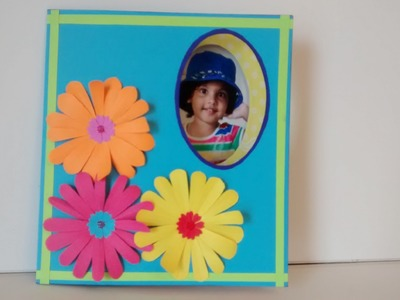 Art and Craft: Changing Picture Card. Peek a Boo Card