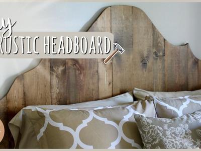 DIY Bedroom Furniture⎪Rustic Headboard