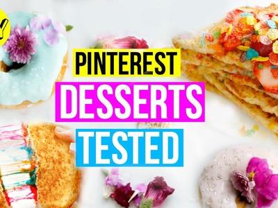 DIY Breakfast Dessert Ideas! Pinterest BuzzFeed Recipes Tested!
