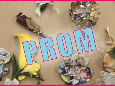 DIY PROM Boutonnieres & Corsages