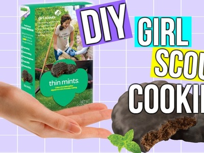 DIY Thin Mint Cookies | Girl Scout Cookies | Courtney Lundquist